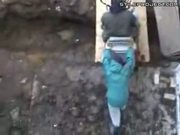 excavator accident