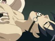 Pretty Hentai Babe Licked All Around Whilst Bound
