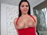 Curvy Chick Valentina Nappi Shows Off Her Big Assets