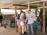 Cowgirls Go After A Lone Cowboy And Have A Grand Ole Time