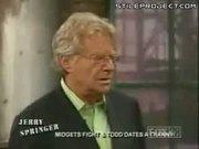 Hilarious Midget Fight On Jerry Springer