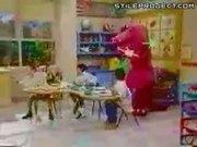 Barney The Dinosaur Raps