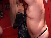 Sissy Nympho Blows Other Man For Kinky Blondes