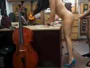 Sexy woman pounded by nasty pawn dude at the pawnshop