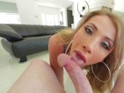 Perfect ass blonde Rita Rush gets hard pussy fucked in doggystyle