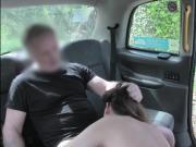 Horny Eva Johnson sucks and ass fuck with her driver John