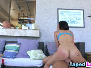 Latina goddess Mila Jade shows some amazing riding skills on a lover's hard dick
