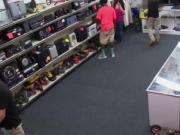 Black straight amateur pawn shop sucking