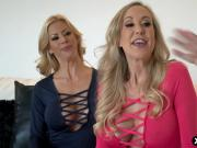 Brandi Love and Alexis Fawx provide a home service