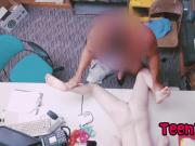 Pale Teen Thief Dolly Leigh Gets Stripped And Fucked By Muscled Man