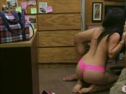 Cuban babe railed by nasty pawn keeper at the pawnshop