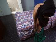 Exploited arab and muslim scandal Desperate Arab Woman Fucks For Money