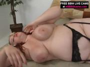 Big Redhead Girl Pounds Thick Black Rod