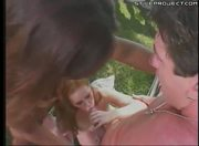 asian chick and white girl suck and fuck a guido douchebag