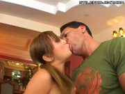 Tia Tanaka in pigtails getting fucked - Hot Asian teen!