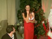 Big-Breasted Ariella Ferrera Screwed By Butler & Santa