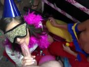 Horny Teens Have Wild Orgy At A Birthday Party