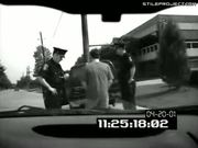 Drunk Guy Pisses On Cop