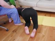 Bdsm begging Ass-Slave Yoga