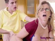 Sexy Cougar Cory Chase Gets Demolished By Stepson