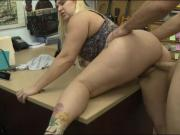 Bubble butt babe nailed by pawn keeper at the pawnshop