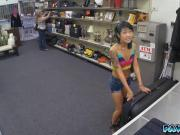 Asian chick got banged hard for some fat wad of cash