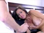 Mommy Veronica Avluv sucks and fucks cock of best friend