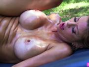 Milf bouncy tits Alexis acknowledges butt fucking sex and railed by Toni