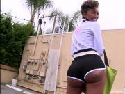 Asshole fuck tattoed giant butt Bella Bellz