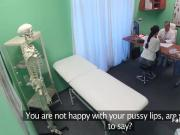 Horny doctor fucks hot patient in hospital