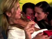Horny cheerleader works as babysitter to pay her studies