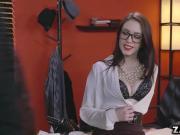 Anna De Ville and Preston both moans and enjoying ass fucking
