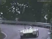 Deer Gets Hit & Launched Up By Race Car