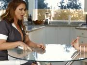 Phoenix Marie did not leave the house unsatisfied she got fingered by Cherie