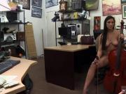 Public agent blonde abandoned shop and amateur interracial rough sex