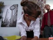 Office babe Dakota Vixin gets her pussy smashed by coworker