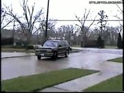 SUV Truck Drift Fail