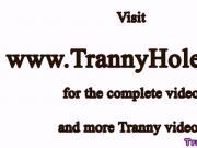 Transexual TS Bruna Souza riding dong