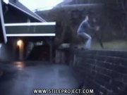 epic backflip fail!