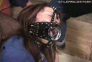 Japanese Girl Wearing Big Hole Mask Is Jizzed On