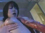 japanese girl sucks and fucks a tentacle monster