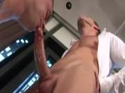 Muscled stud straight hunks power anal