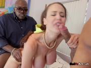 MILF Mckenzie Lee Screws Black Construction Guys