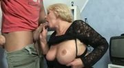 Frustrated Old Babe Gets Hung Stud
