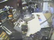 Car Crashes into a Music Store