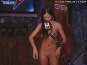 Janessa Brazil - Miss Howard Stern rides the sybian