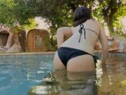 Bootylicious Babe Ass Nailed By Stud In Swimming Pool