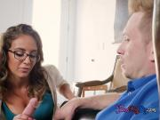 Young Hoe Layla London Blows Stepdads Big Cock