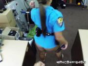 Luscious Police Woman Sucks Cock Of Pawnbroker