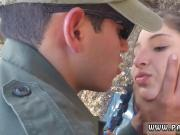 Lesbian border police and police blonde hd Latina Deepthroats on the